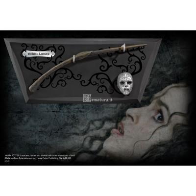 Bacchetta di Bellatrix Lestrange con supporto NN7976