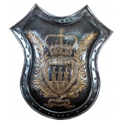 Trofeo in ferro da muro inciso 04