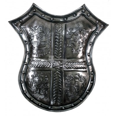 Trofeo in ferro da muro inciso 05