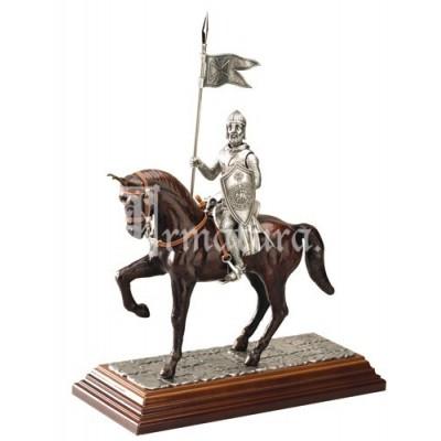 Miniatura cavaliere templare a cavallo Marto 947