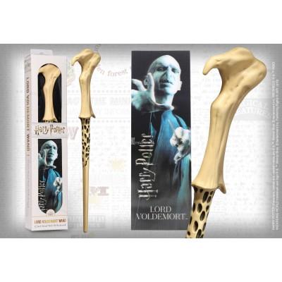 Bacchetta e segnalibro 3D Lord Voldemort NN6317