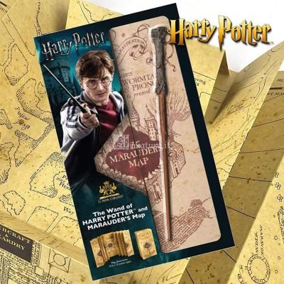 Bacchetta Harry Potter e Mappa Malandrino NN7978
