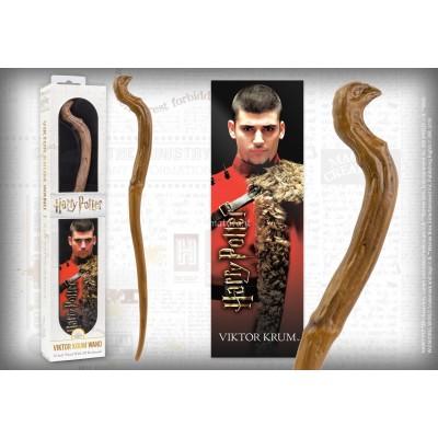 Bacchetta e segnalibro 3D Viktor Krum NN6330