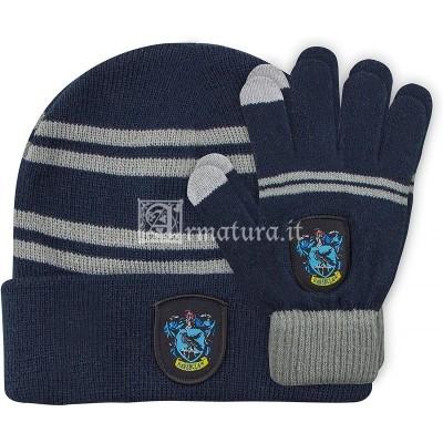 Set guanti e cuffia Corvonero