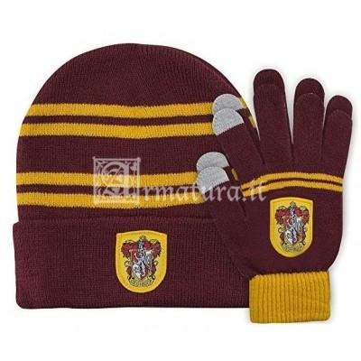 Set guanti e cuffia Grifondoro HPSETR