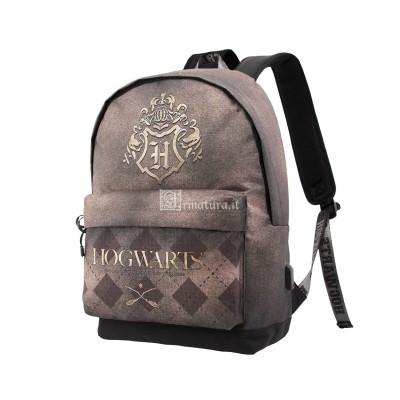 Zaino Hogwarts Marrone