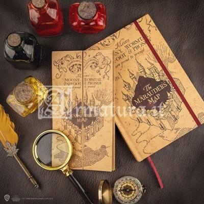 Quaderno e piccola replica della mappa del malandrino CR5107