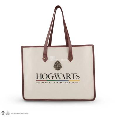 Borsa in tela crema Hogwarts CR2471