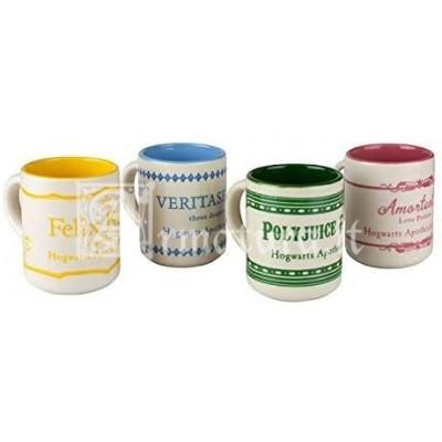 Espresso set 4 tazze collezione pozioni GP85263