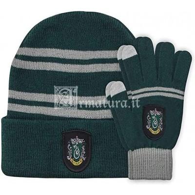 Set guanti e cuffia Serpeverde