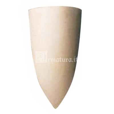 Scudo triangolare grande