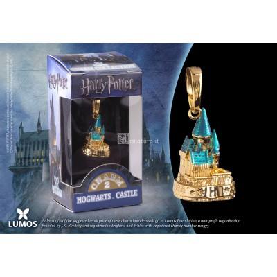 Charm n°02 Castello Hogwarts color oro NN1032